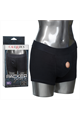 Packer Gear Black Boxer Brief Harness - M/L